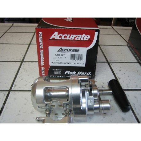 Accurate Platinum ATD-12T TwinDrag Reel