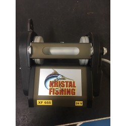 Kristal Fishing XF 655 24 Volt DREDGE Electric Reel